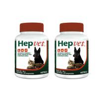 Combo 2 unidades Hepvet Suplemento Vetnil - 30 Comprimidos -
