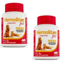 Combo 2un Hemolitan Pet 30cps - Vetnil -
