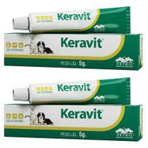 Combo 2un Keravit 5g - Vetnil -