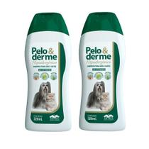 Combo 2un Shampoo Pelo e Derme hipoalergênico 320ml - Vetnil - Virbac