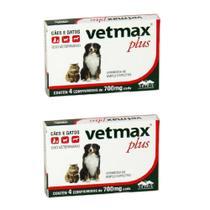 Combo 2un Vetmax Plus 4 Comprimidos Cada - Vetnil -