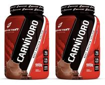 Combo 2x Carnívoro 900g Beef Protein Isolate Bodyaction -