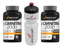 Combo 2x L-carnitina 180 Caps 2000mg + Squeeze - Bodyaction
