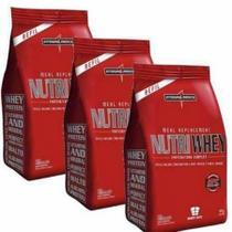 Combo 3 - Nutri Whey Protein - Refil  907g - Integralmédica - Integralmedica