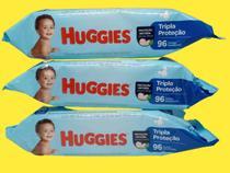 Combo 3 pacotes lenço toalhas umedecidas Huggies Disney Baby -