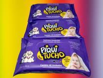 Combo 3 pacotes lenço toalhas umedecidas Piquitucho 144 unid -