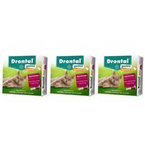 Combo 3 Unidades Drontal Spot On 1,12 ml para Gatos 5 a 8 kg - Bayer -