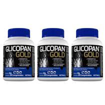 Combo 3 unidades Glicopan Gold Comprimidos - 30 comprimidos - Vetnil