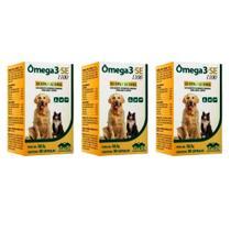 Combo 3 unidades Omega 3 Se 1100 - 30 Capsulas - Vetnil