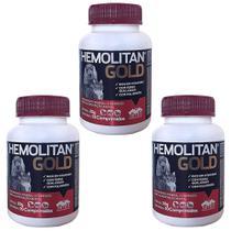 Combo 3un Hemolitan Gold 30cps -vetnil -