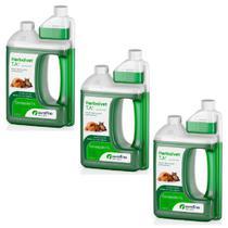 Combo 3un Herbalvet Desinfetante 1l  Cada Ourofino -