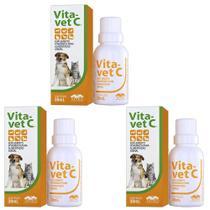 Combo 3un Vita Vet C 30ml - Vetnil -