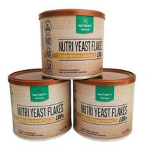 Combo 3x Nutri Yeast Flakes 100g Nutrify -