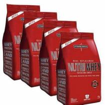 Combo 4 - Nutri Whey Protein - Refil  907g - Integralmédica - Integralmedica