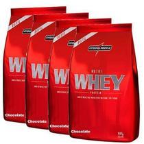 Combo 4 - Nutri Whey Protein - Refil Chocolate 907g - Integralmédica - Integral Médica