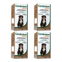Combo 4 unidades Condroton 1000mg Vetnil - 60 comprimidos -