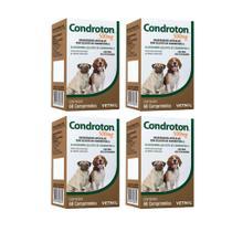 Combo 4 unidades Condroton 500 mg - 60 comprimidos - Vetnil