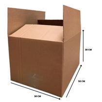 Combo 5 Caixas Papelão Mudança M 50 X 30 X 30 Cm Reforçada -