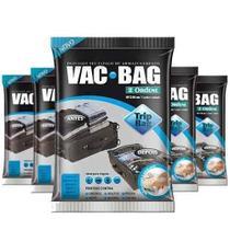 Combo: 5 Saco a Vácuo Protetor TRIP VAC BAG 60 X 40 Ordene 55000 -
