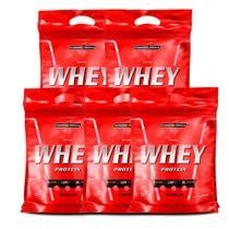 Combo 5x Nutri Whey Isolado 907g Refil Integral Medica - Wey - Integral Médica