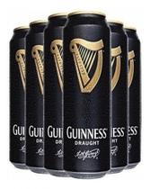 Combo 6 X Cerveja Guinness Draught 440ml -
