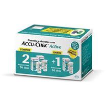 Combo  ACCU-CHEK Active Compre 2 Leve 3 C/50unid.Cada -