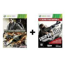 Combo Ace Combat Assault Horizon + Sniper Elite V2 - Xbox 360 - Nanco
