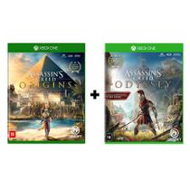 Combo Assassins Creed Origins + Assassins Creed Odyssey - Xbox One - Microsoft