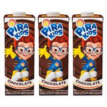 Combo Bebida Láctea Pirakids Sabor Chocolate 3x1l - Piracanjuba