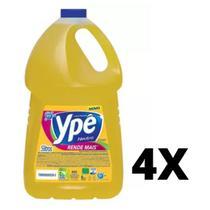 Combo C/4 Detergente Ype 5 Litros Embalagem Economica -