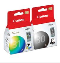 Combo Cartucho Original Canon Pg30 + Cl31 Black Color -