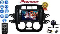Combo Central Multimidia Dvd Pioneer C/ Bluetooth Cd Usb + Câmera Ré Moldura Gol Saveiro Parati G4 -