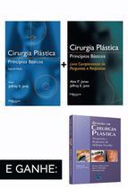 Combo: cirurgia plastica principios basicos e cirurgia plastica principios - Di Livros Editora Ltda