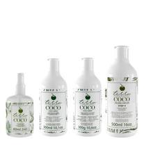 Combo Cocada Capilar Shampoo Condicionador e Leave-in + Elixir TerraCoco - Terra coco