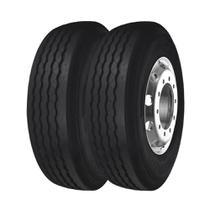 Combo com 2 Pneus 215/75R17,5 Bridgestone Dayton D300 Liso 12 Lonas (10,3mm) -