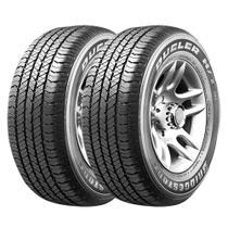 Combo com 2 Pneus 255/60R18 Bridgestone Dueler H/T 684 III Ecopia 112T Amarok -