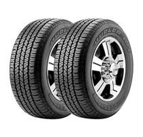 Combo com 2 Pneus 265/65R17 Bridgestone Dueler H/T 684 II 112S -
