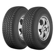 Combo com 2 Pneus 265/70R16 Bridgestone Dueler H/T 840 112S (Original Toyota Hilux) -