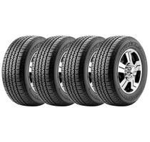Combo com 4 Pneus 265/60R18 Bridgestone Dueler H/T 684 II Ecopia 110T -