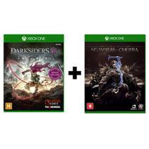Combo Darksiders 3 ( Day One ) + Sombras da Guerra - Xbox One - Microsoft