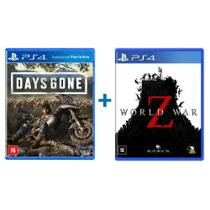 Combo Days Gone + World War Z - PS4 - Bend Studio