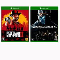 Combo de Jogos Xbox One - Red Dead Redemption 2 + Mortal Kombat XL - Rockstar Games