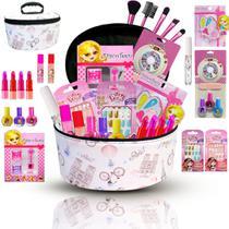 Combo De Maquiagem Infantil Kit Completo + Sombras Bz104 - Bazar Web