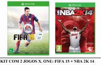Combo: Fifa 15 + Nba 2k 14 - Xbox One -