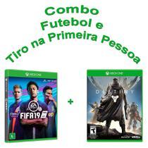 Combo Fifa 19 Xbox One + Destiny Xbox One Mídia Física - Eletronic arts e activision