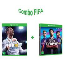 Combo Fifa Para Colecionadores: Fifa 18 + Fifa 19 Xbox One - Eletronic arts