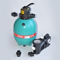 Combo Filtro e Bomba para Piscina Dancor Rotomoldado DFR11 Motor WEG -