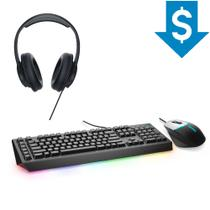 Combo Gamer Headset USB Dell AE2 + Teclado AW568  Mouse AW558 Alienware -