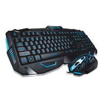 Combo Gamer Multilaser Teclado e Mouse Lightning ABNT2 TC195