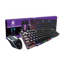 Combo Gamer Start Nemesis  Mouse e Teclado -